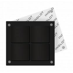 Футляр для косметики FREEDOM SYSTEM [4] квадратний