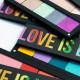 Футляр для косметики LOVE IS LOVE FREEDOM PALETTE