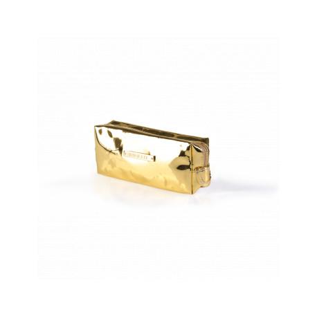 COSMETIC BAG MIRROR GOLD (R24459B)