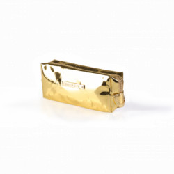 COSMETIC BAG MIRROR GOLD (R24459B) icon