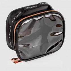 Мала дорожня сумка для косметики TRAVEL MAKEUP BAG SMALL BLACK & ROSE GOLD icon