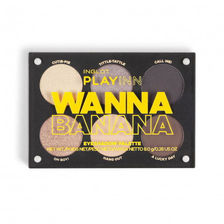 PLAYINN WANNA BANANA EYE SHADOW PALETTE